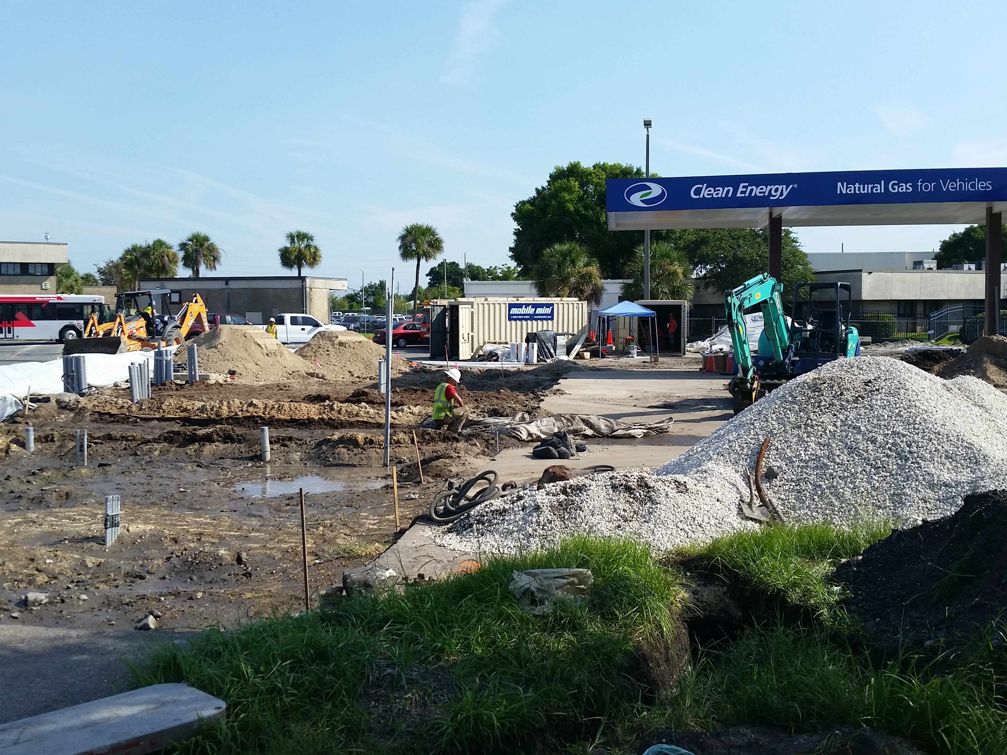 Installation of Compressed Natural Gas (CNG) Fueling Station