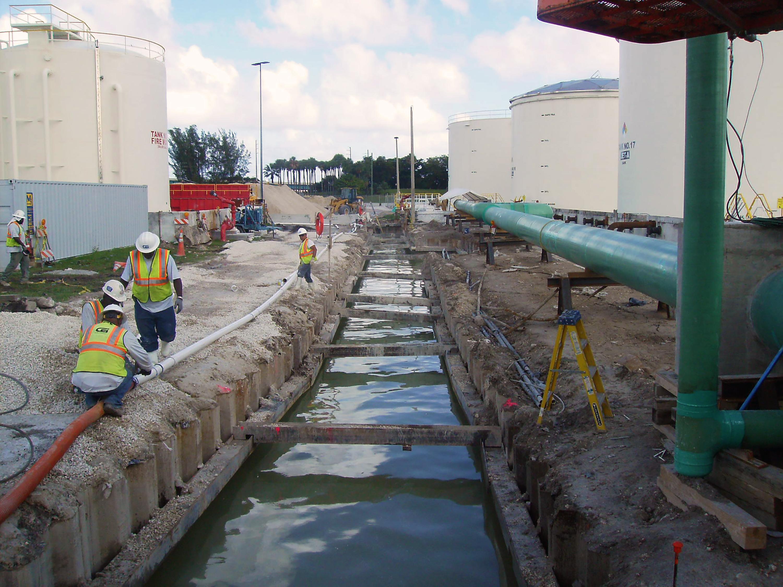 Miami International Airport New Hydrant System Pump