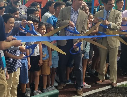 Curtis Park Ribbon Cutting Ceremony