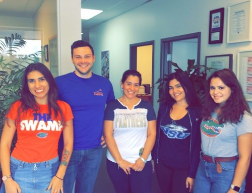 College Color Day in the Office!