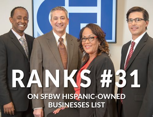 CEI Ranks One of Top Hispanic-Owned Businesses!