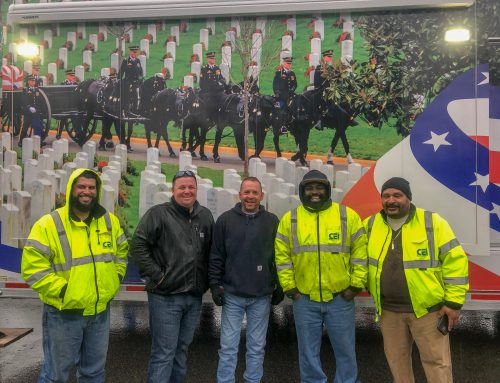 DC Crew 'Wreaths Across America' Volunteering
