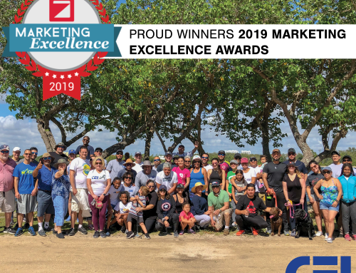 2019 Marketing Excellence Awards – CEI Winner